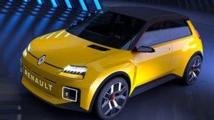 Nouveauté : la nouvelle Renault 5 électrique