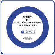Certification du contrôle technique