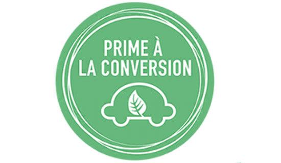 Logo de la prime à la conversion