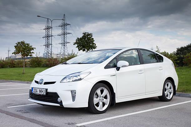 Voici la citadine hybride de Toyota, la Prius