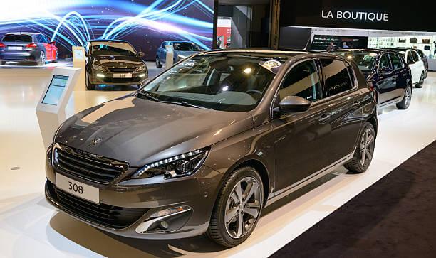 Voici la Peugeot 308