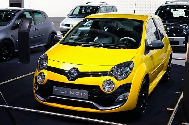Renault Twingo en exposition