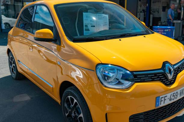 Voici, la fameuse citadine de Renault, la Twingo 3