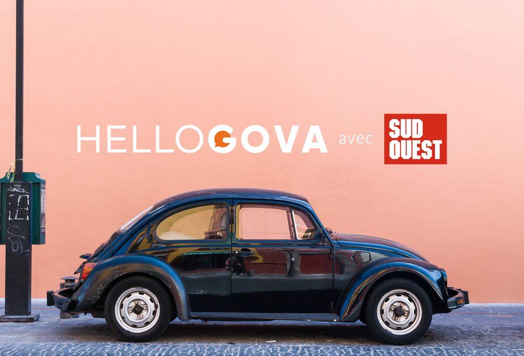 Hellogova se charge d'accompagner tous les lecteurs du journal Sud-Ouest
